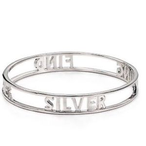 Kate Spade Find The Silver Lining Bangle Bracelet